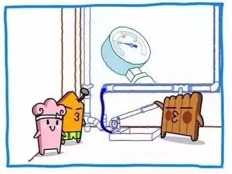 家装电路施工漫画